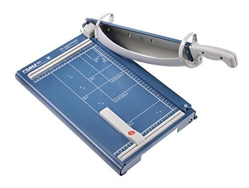 Dahle 561 Schneidemaschine (Bis DIN A4, 35 Blatt Schneidleistung) blau