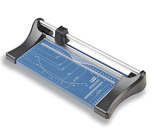 A4-Papierschneider, Papier-Rollen-Schneidemaschine für Papier, Folie, Pergament, Karten und Fotos, mit einer Schnittlänge von 320mm | Rollenschneider | Rollenschneidemaschine