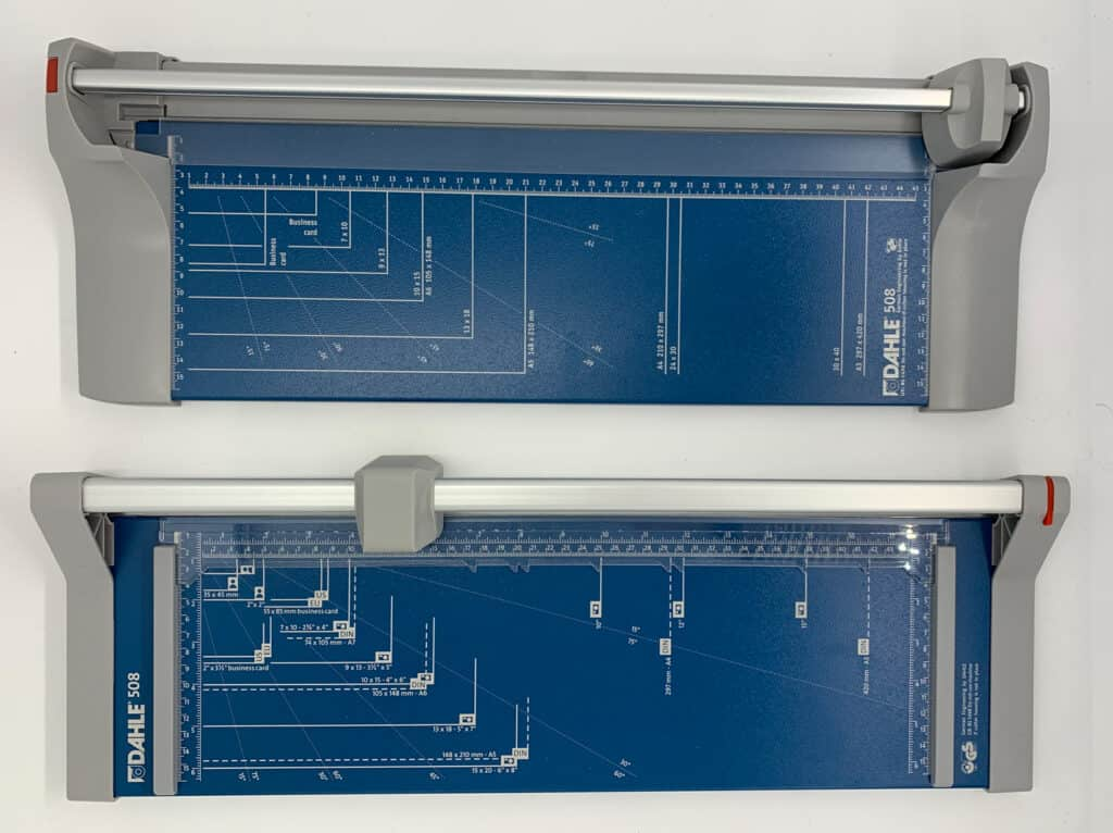 Dahle 508 slicer (model 2020) in review: This is the machine at work 2